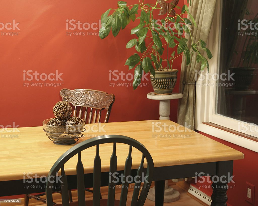 Dinette royalty-free stock photo