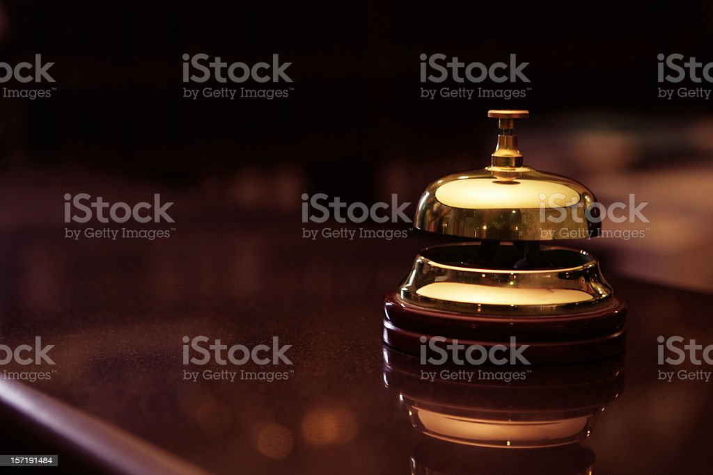Ding! royalty-free stock photo
