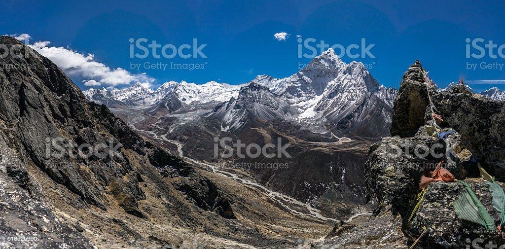 Dingboche, Nepal stock photo