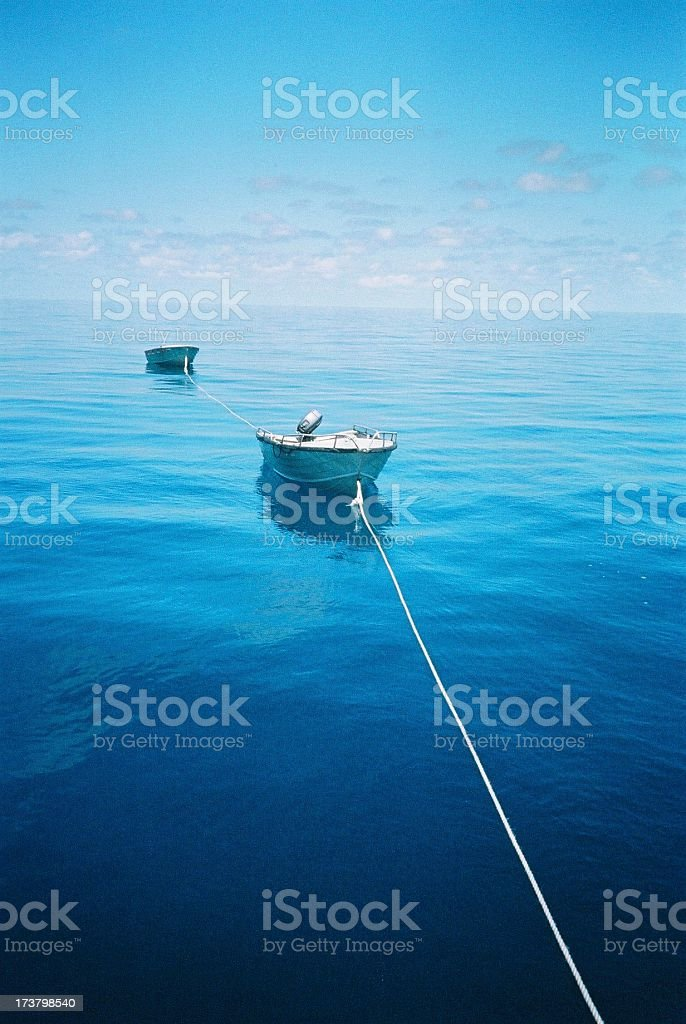 Dinghies royalty-free stock photo