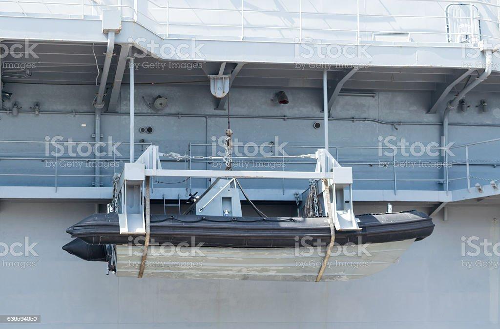 dinghy boat stock photo