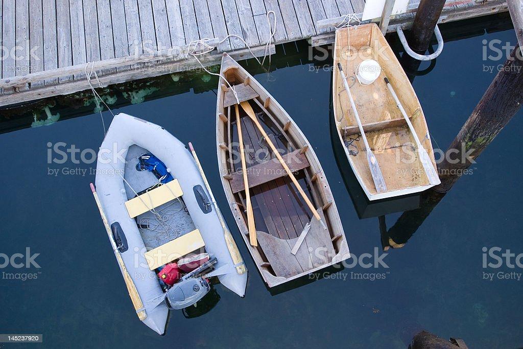 Dinghy Dock royalty-free stock photo