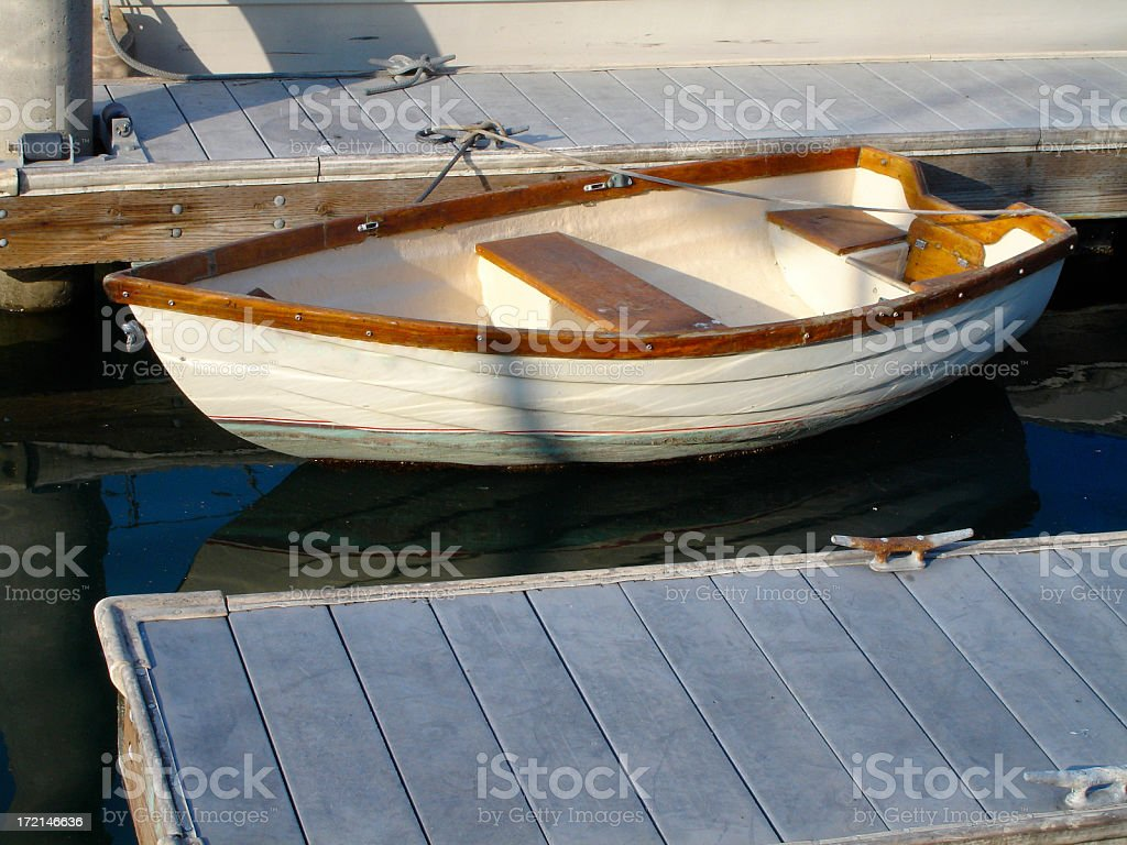 Dinghy royalty-free stock photo