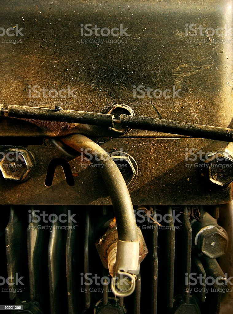 Dingy Metal royalty-free stock photo