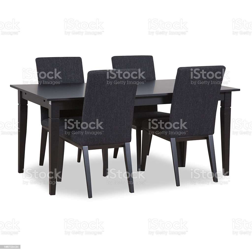 Dining furniture royalty-free stock photo