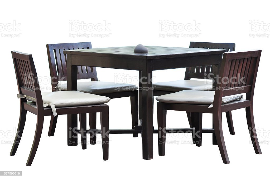 Dining furniture stock photo