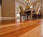 Dining room Hardwood floors