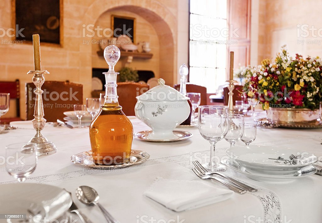 Dining Room royalty-free stock photo
