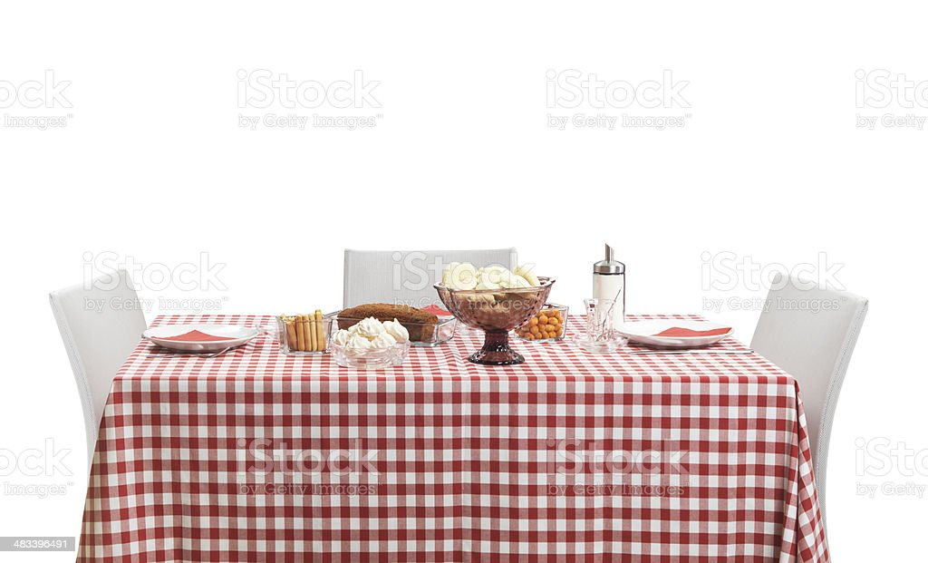 Dining Table (Click for more) royalty-free stock photo