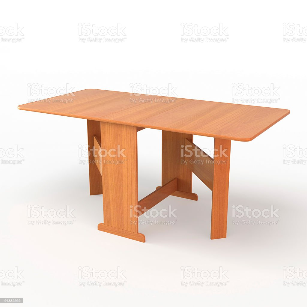 Dining table - transformer stock photo