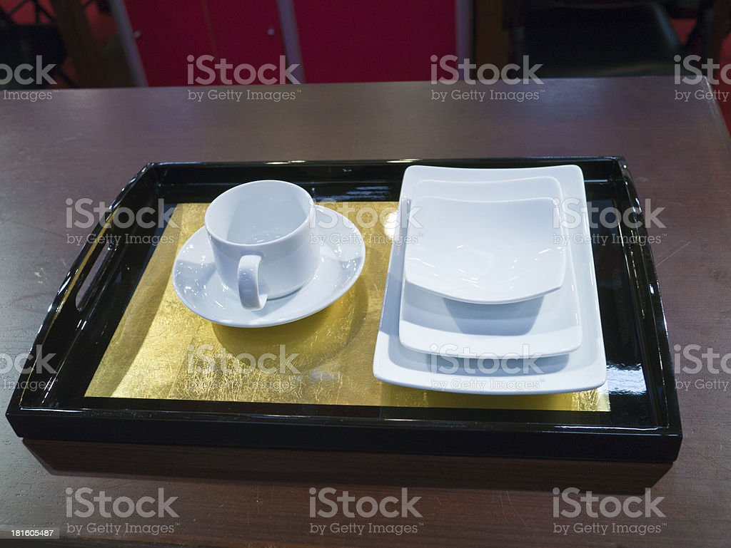 dining utensils royalty-free stock photo