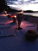 Dinner in the beach