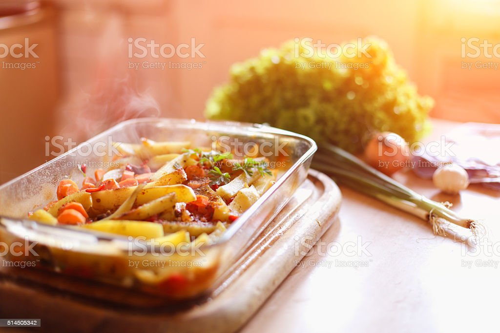 Dinner is ready stock photo