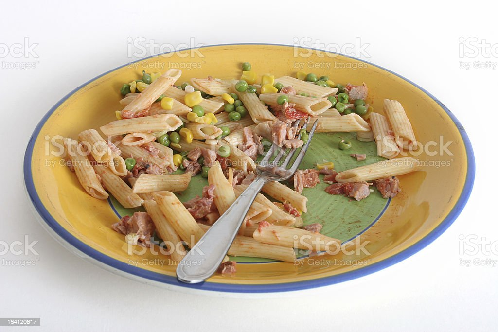 dinner leftover royalty-free stock photo