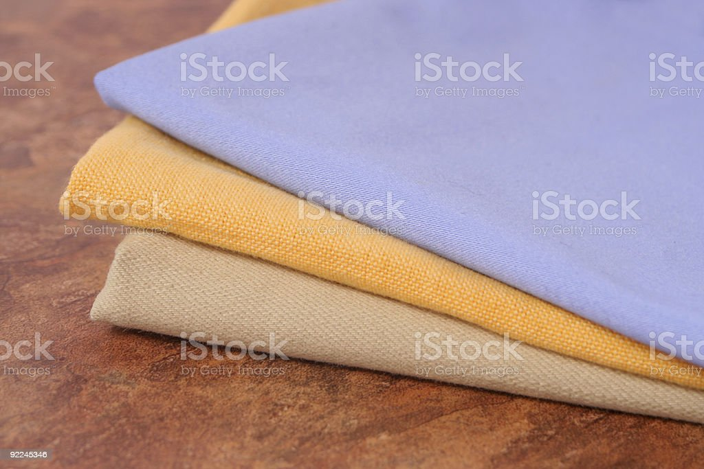 dinner napkins royalty-free stock photo