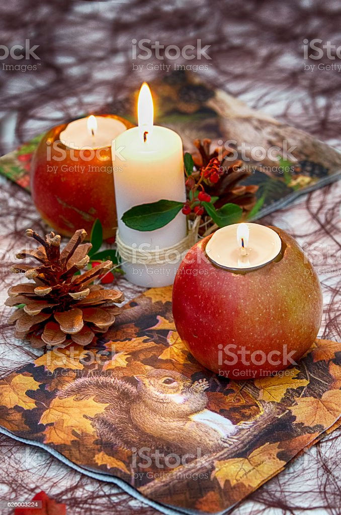 Dinner party table setting decorations royalty-free stock photo
