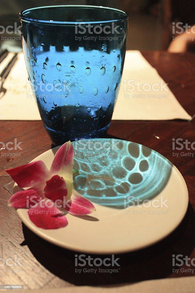 La cena foto de stock libre de derechos