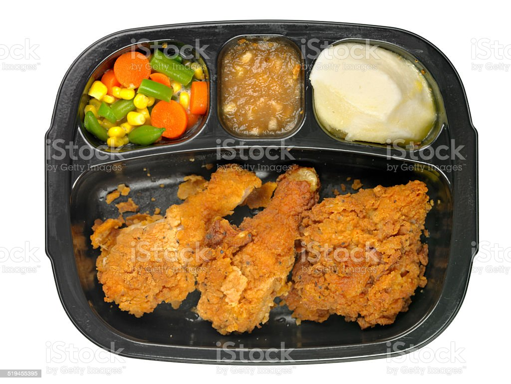 TV Dinner stock photo