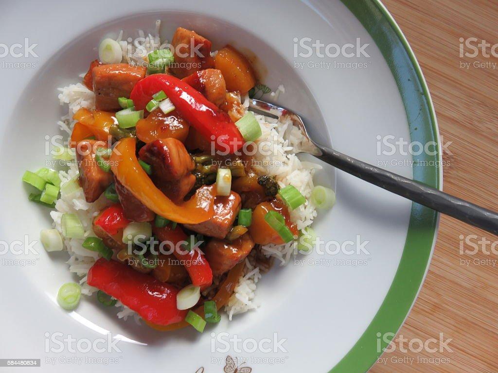 - Abendessen  Lizenzfreies stock-foto