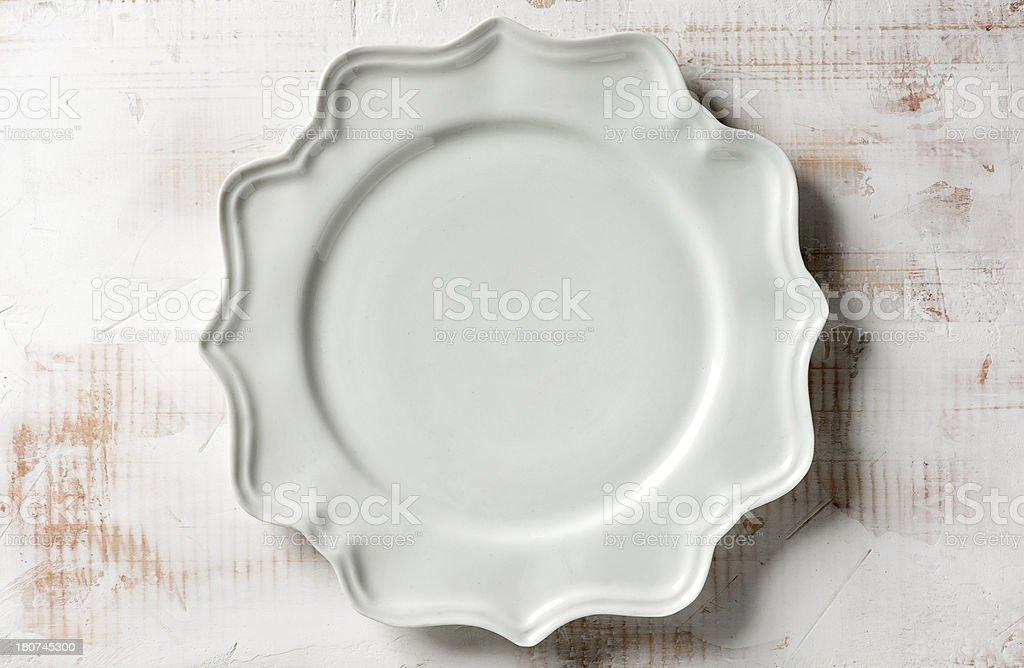 Dinner plate, kitchen Utensil stock photo