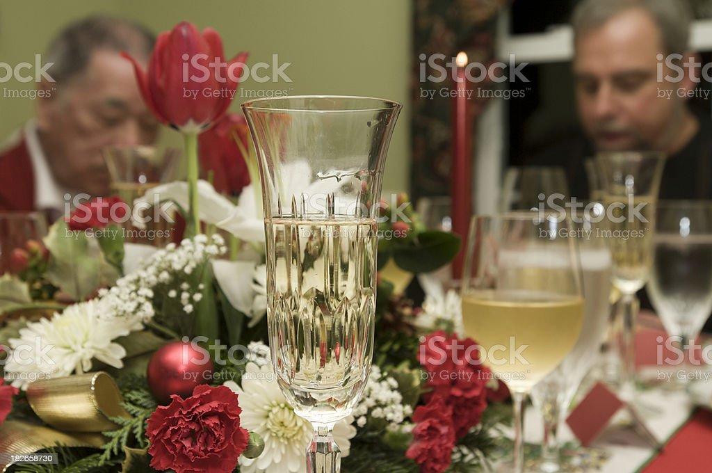 Dinner prayer royalty-free stock photo