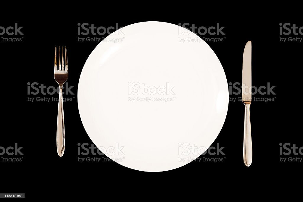 Dinner service royalty-free stock photo