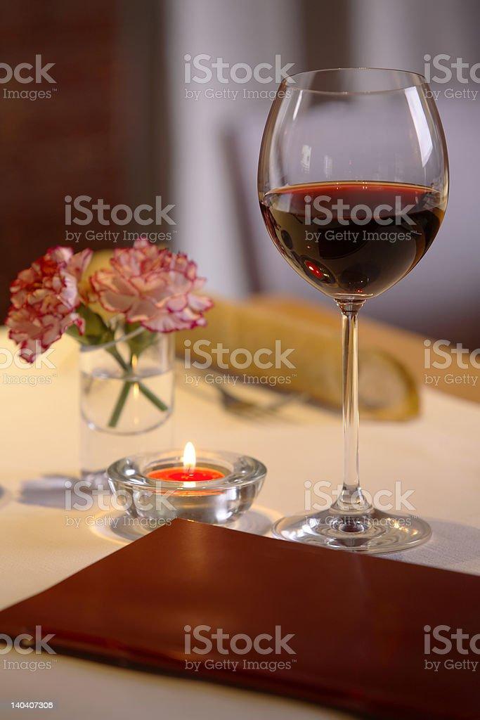 Dinner setting #2 royalty-free stock photo