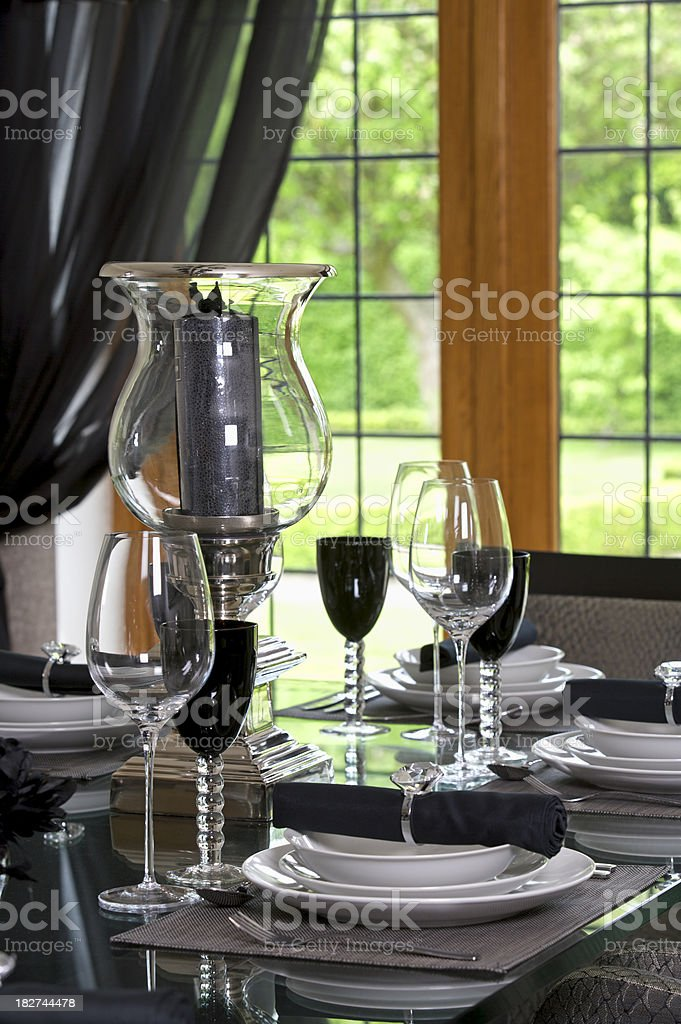 Dinner Setting stock photo