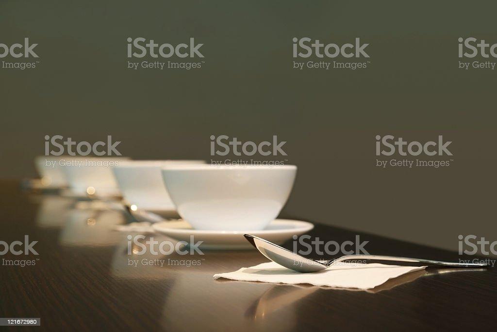 Dinner time stock photo