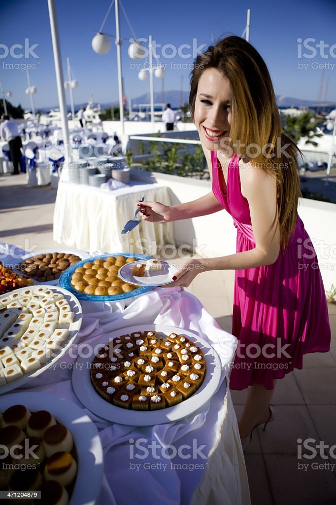 Dinner Time royalty-free stock photo