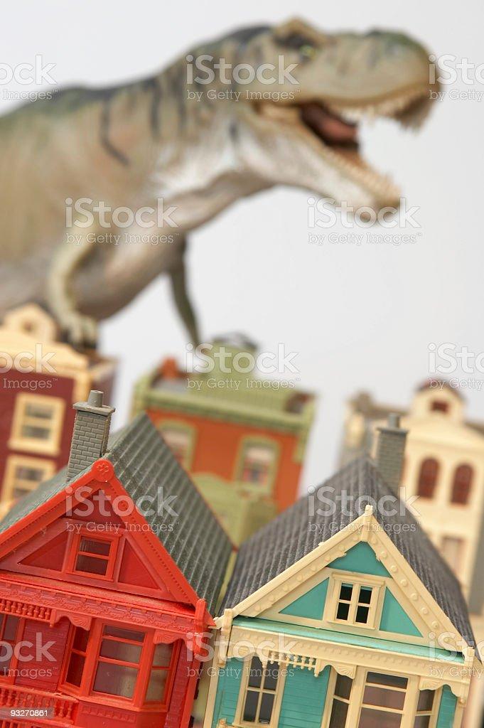 Dino Attack #3 stock photo