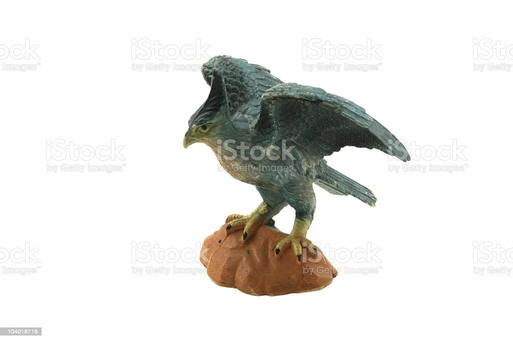 Dinosaur bird stock photo