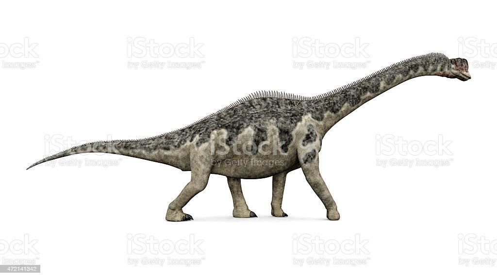 Dinosaur Europasaurus stock photo