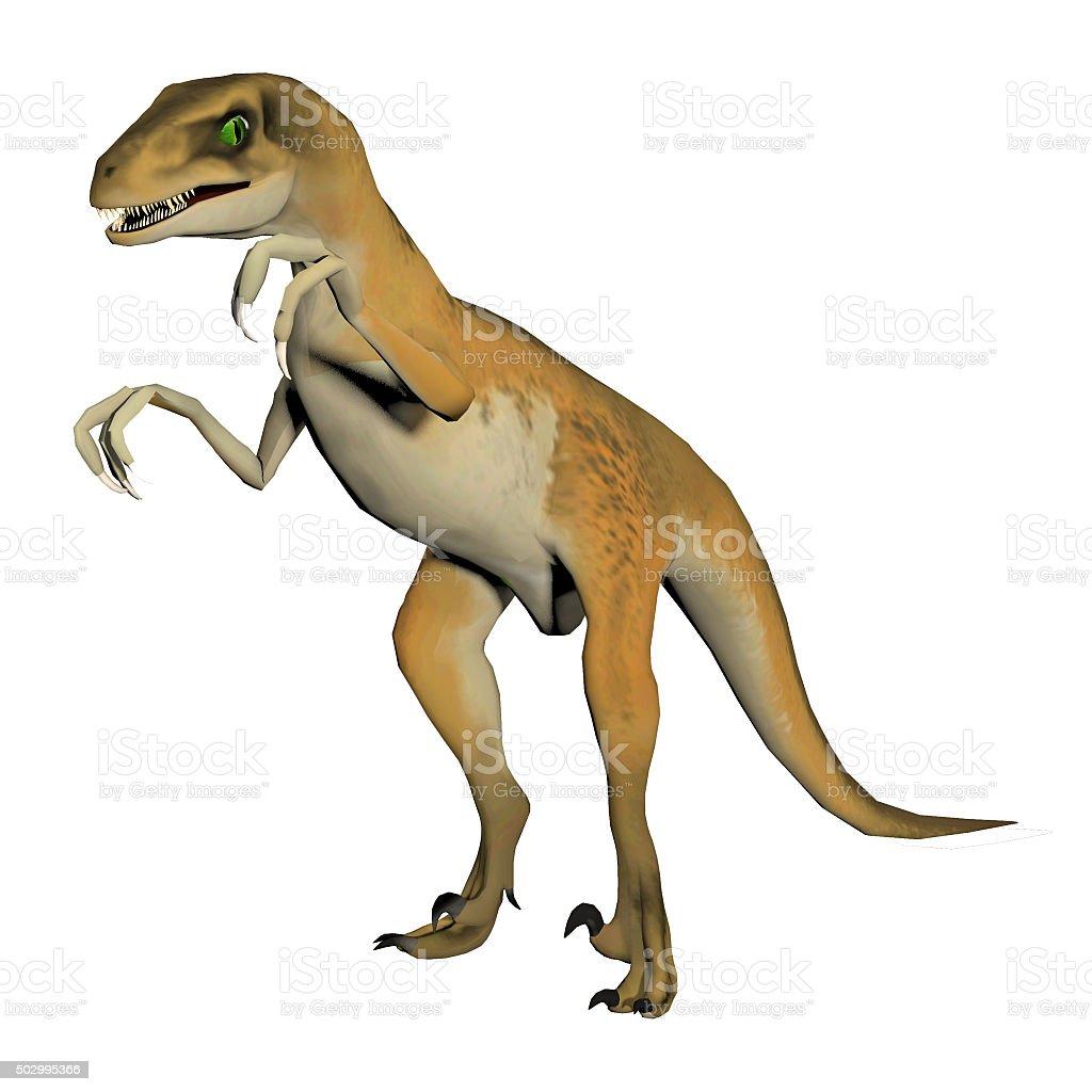 dinosaur isolated on white stock photo