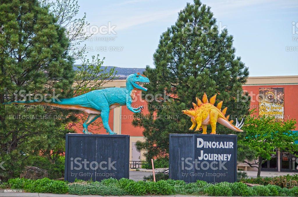 Dinosaur Journey Museum of Western Colorado stock photo
