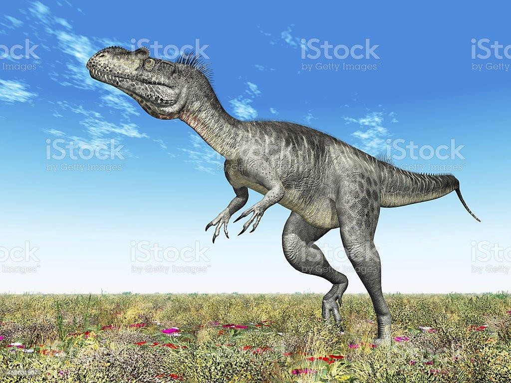 Dinosaur Megalosaurus stock photo