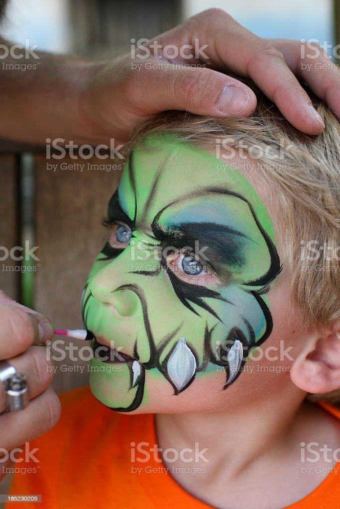 Dinosaur Monster Kid stock photo