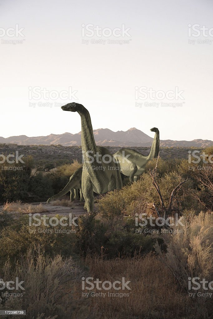 Dinosaurs royalty-free stock photo