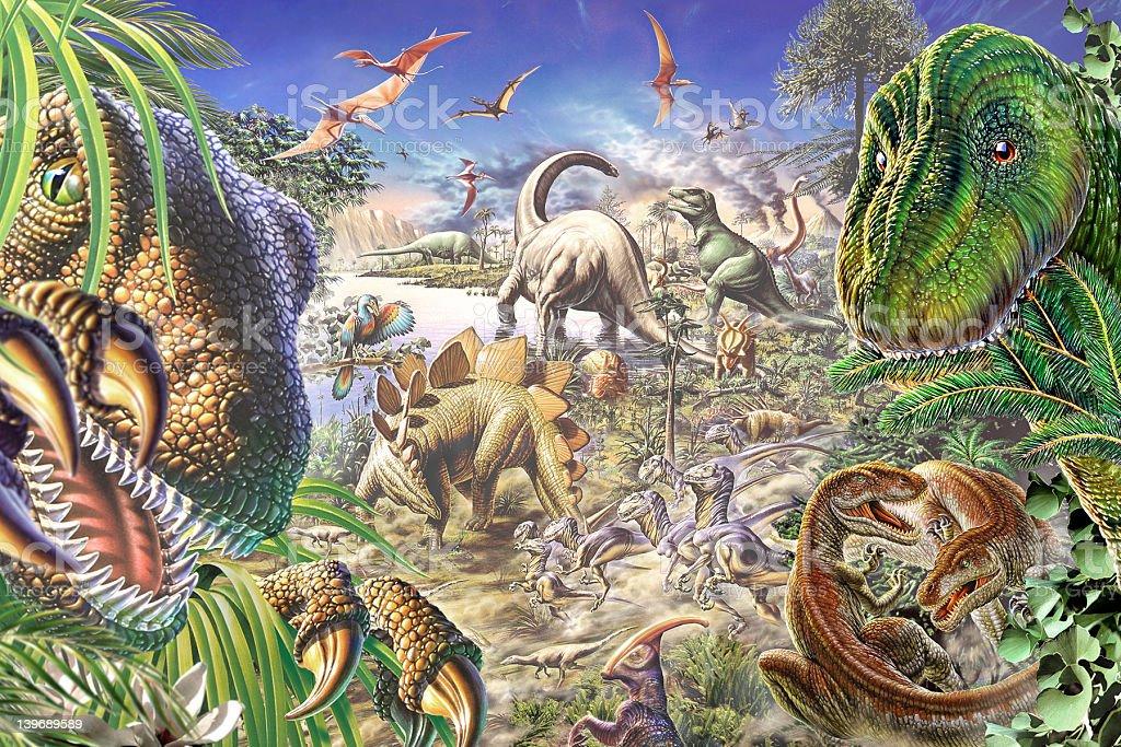 Dinosworld stock photo