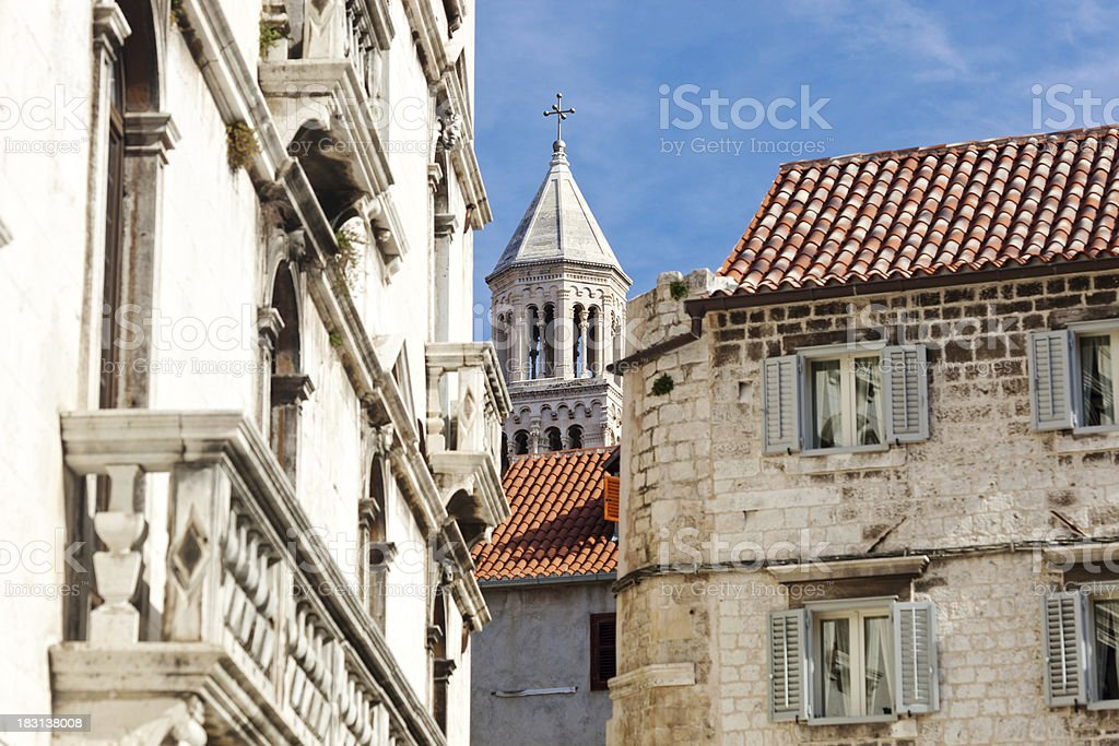 'Diocletian Palace In The Old Town Of Split, Croatia' stock photo