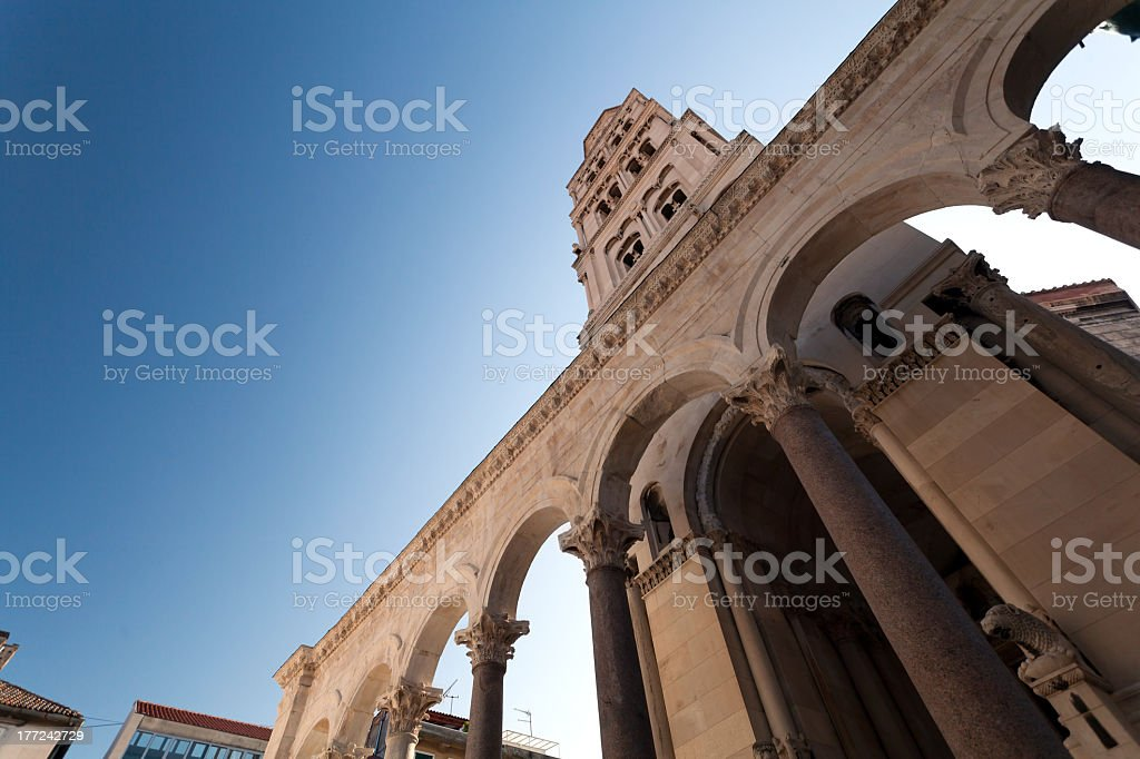 Diocletian Palace stock photo