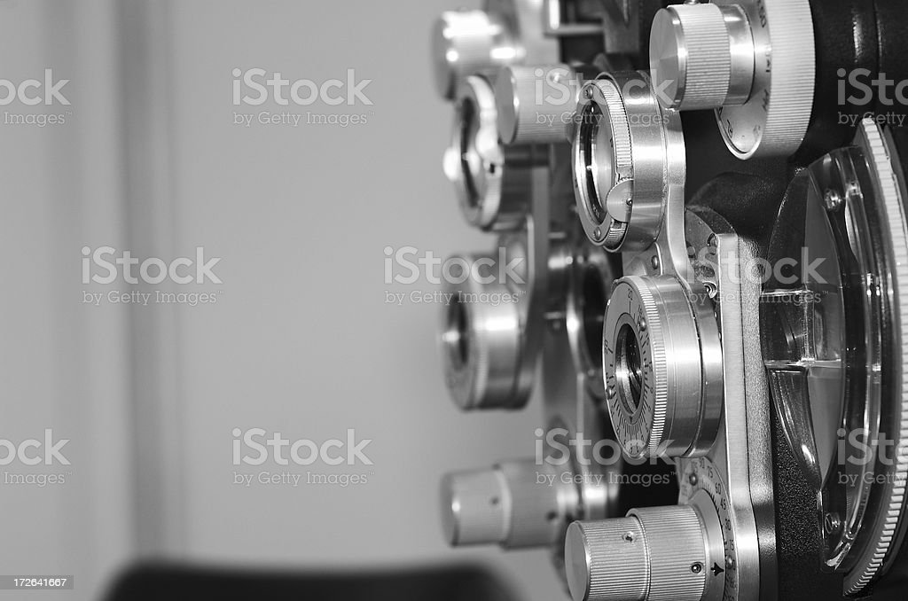 diopter black and white royalty-free stock photo