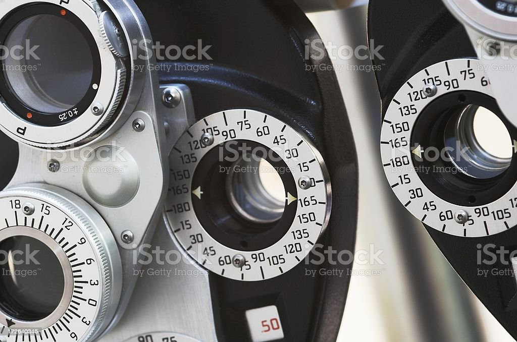 diopter stock photo