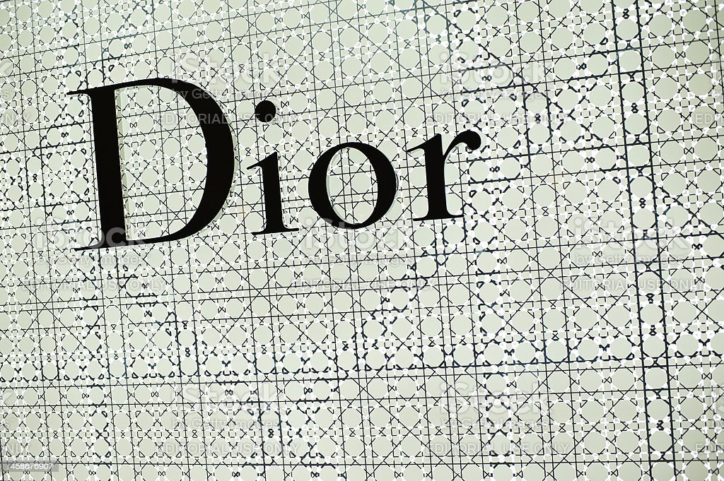 Dior Sign stock photo