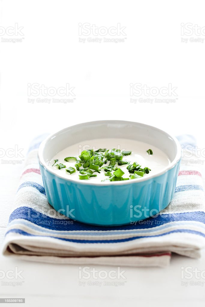Dip royalty-free stock photo