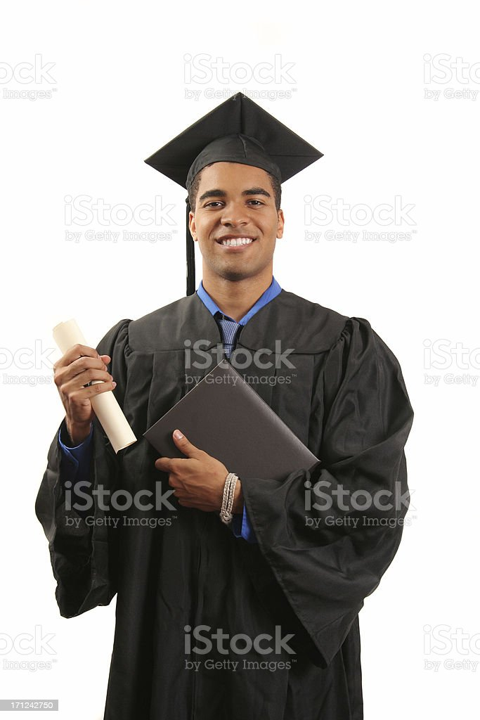 Diploma and degree royalty-free stock photo