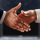 diplomatic handshake