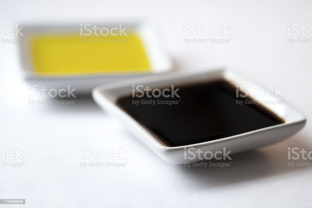 Dipping Oils royalty-free stock photo