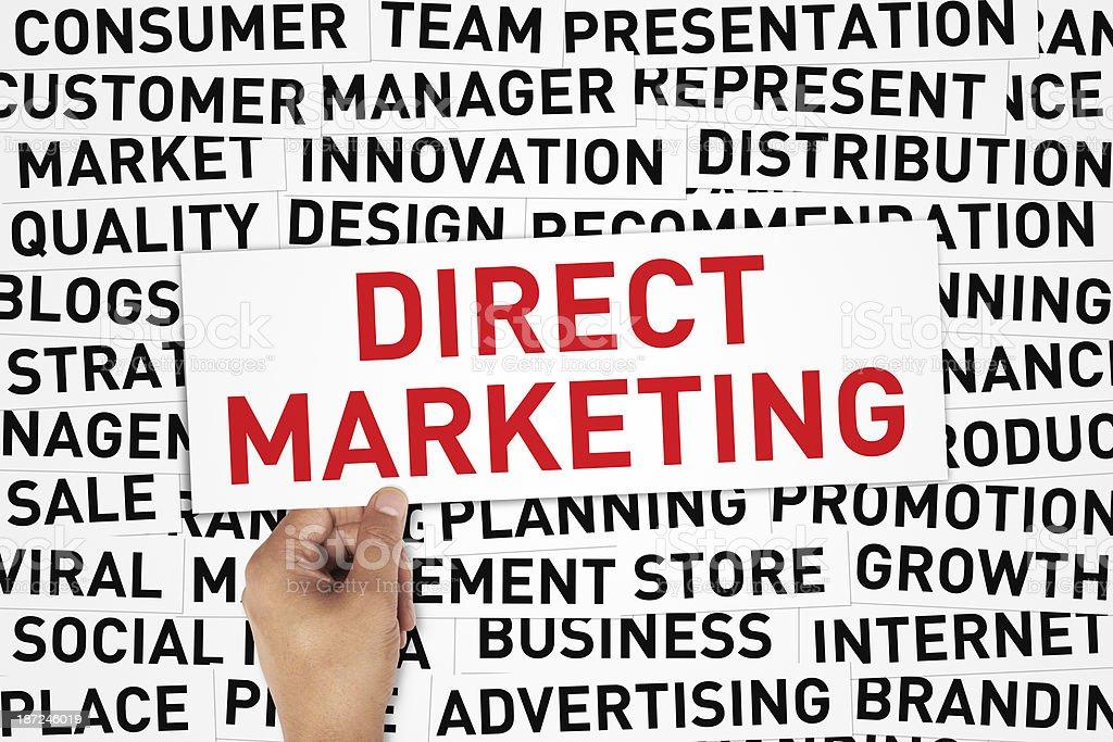 Direct Marketing royalty-free stock photo