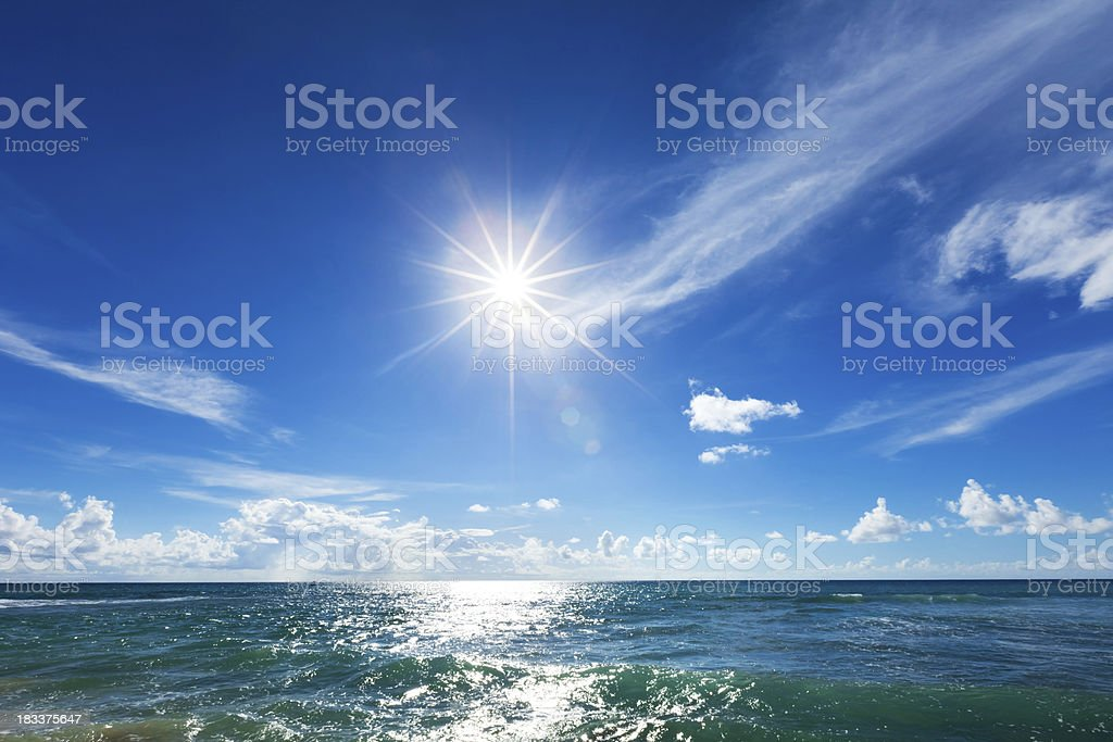 Direct Sun royalty-free stock photo